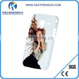 Plastic 3D sublimation mobile phone Case for samsung ACE2