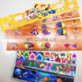 UV printed lenticular effect fold ruler