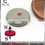 "SmCo Magnets Dia 3/8""X1/16"" Samarium Cobalt Magnets 572F Temperature"