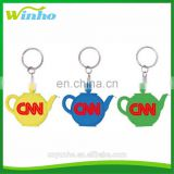 Winho Teapot shaped measuring tape keychain