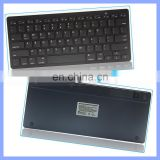 Ultra thin 10 inch portable mini wireless bluetooth keyboard ABS material suitable for mobile phone pad pc laptop tablet