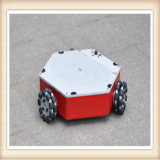Three-wheel independent drive Compass Q1 robot