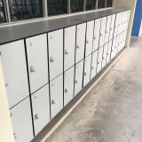 Low H1200mm phenolic resin compact laminate school locker export to Singapore