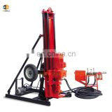 Fast delivery mobile pneumatic portable soil anchor drilling rig with high quality