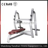 Commercial gym equipment/fitness equipment/strength training equipment Olympic Flat Bench TZ-6023