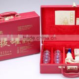 GuoYiYan Brand cupping set 18cups with leather suitcase (gift package)
