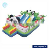 Panda children's games JT-14301B giant commercial outdoor kids inflatable bouncers slide for sale