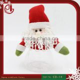Lovely Santa Claus Style Bottle Holders Gift Drawstring Bags Christmas Supplies Wedding Candy Box