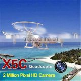 Drone 2.4G 4CH Remote Control RC Helicopter Quadcopter With 2MP HD Camera drone                                                                         Quality Choice