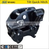 excavator hydraulic tilting Quick coupler/ tilt quick hitch coupler