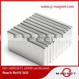 rare earth N35-N52 block permanent neodymium magnet wind turbine generator magnet passed by ISO14001, ISO9001, ISO/TS16949                                                                                                         Supplier's Choice