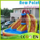 New Point inflatable water slides for summer,modern waves inflatable water slide,inflatable water slides