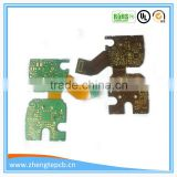 fashionable 94-v0 rigid-flexible board design and manufacture flex-rigid printed circuit board