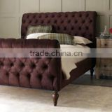 American furniture bed real wood birch 1.8 meters classical bed marriage bed