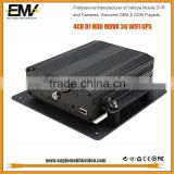EMV 4CH Full D1 HDD Mobile DVR with 2TB HDD &32GB SD Card 3G WIFI GPS G-Sensor Vdieo Audio                                                                         Quality Choice