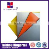 Alucoworld aluminum composite sheet Certificate with ISO/SGS/CE/BV boat interior decorating