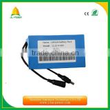 long cycle 11.1v 4400mah 18650 lipo battery pack for led light /christmas lights