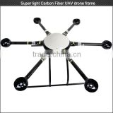 Good performance Support 24'' propeller 1300mm carbon fiber hexacopter frame for aerial photography