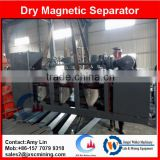 cross belt magnetic separator with 500mm diameter disc