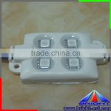UL and CE APPROVED 5050SMD RGB LED Module/LED Backlight for Sign/4pcs Superflux LED Module