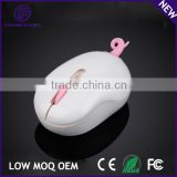 Cute design pink pig style kids wireless optical mouse 2.4g                                                                         Quality Choice