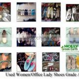 Woman Office Lady Used Shoes for Sale fashion Grade A China factory directly sale warehouse bulk wholesale second hand