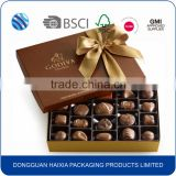 Fancy empty food grade chocolate candy paper packaging box wholesale                                                                         Quality Choice