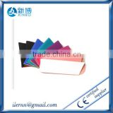 Factory Price leaf spring sunglass bag, microfiber glasses bags