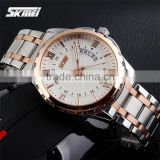 2015 SKMEI NEW product stainless steel luxury men watch 9069