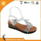 Fashion and elegant PVC ladies sandels, beach jelly sandals