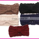 China manufacturer wholesale fashion cheap knitted girls knot headband