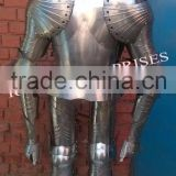 Full Suit Of Armor Decoration Royal Design Medieval Knight Full Body Armor, Wearable Body Armor