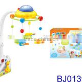 New remote control projecter musical baby cot mobiles for Christmas