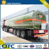 3 Axles Semi Trailer Sodium Hydroxide Tanker, Caustic soda solution transport tank trailer                                                                         Quality Choice