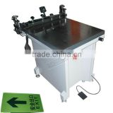 (TAM-6080S) Manual Glass Vacuum Table Screen Printing Machine