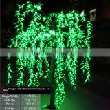 china supplier led weeping willow tree lighting white green christmas tree outdoor led tree lights                                                                         Quality Choice