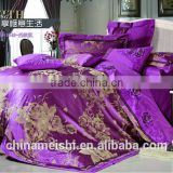 rayon silk bedding set for hotel use and adult bedding set for home use