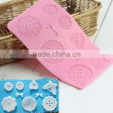 Flowers Butterfly Silicone Lace Fondant Mold Sugar Candy Cake Decorating Mould