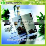 DDQ-Q015 Trade Assurance Cheap Acrylic Cooking Book Holder
