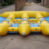 2016 new product hot sale girls movies 6 person inflatable flying manta ray Boat flying fairy cheap pric huoyuan