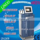 NO.1 2013-2017 popular and hottest LS650 laser cellulite removal machine ( Reduce 3-5 cm size per time!!!!!!!!)