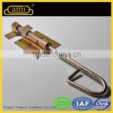 good quality zinc plated barrel bolt for wooden door
