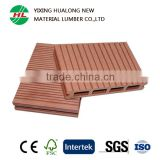 Hollow WPC Decking Boards Wood Plasitc Composite Floor Waterproof WPC Decking for Swimming Pool Balcony
