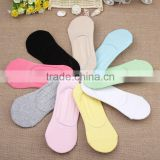 bulk wholesale socks bamboo socks women candy color shallow mouth silicone non slip oem sexy young girls tube socks