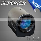1.3MP 6-60mm F1.2 Auto Iris Motorized Zoom CS mount Lens for security camera
