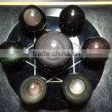 Star Gems Stone Ball/Spheres Set/7 Color Magic Chakra Healing Spheres Rainbow obsidian Crystal Round