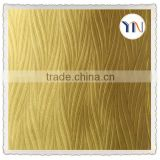 100% polyester dyed embossed curtain blackout fabric