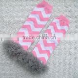 100% cotton leggings baby legwarmers chevron leg warmers