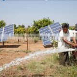 solar pump for small house drink water circulate, irrigate plan water of 10m head solar controller, panel & inverter