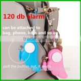 120 db decibels self defense safe tools angel wings personal alarm